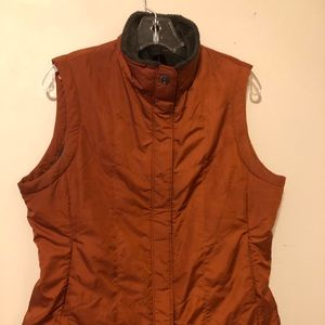 REI Womens Orange Vest Size Large